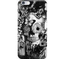 REM, illusions skull iPhone Case/Skin
