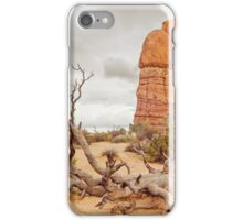 Fallen Tree - Arches National Park iPhone Case/Skin