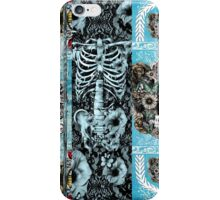Patchwork Ornate skull Collage iPhone Case/Skin