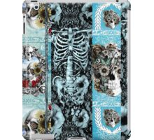 Patchwork Ornate skull Collage iPad Case/Skin