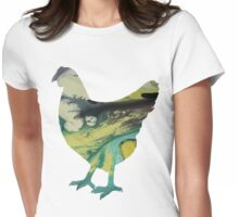 Fowl Womens Fitted T-Shirt