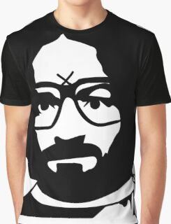 Charles Manson Reilly Graphic T-Shirt