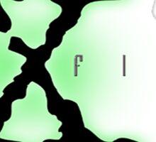 The X Files Logo Sticker