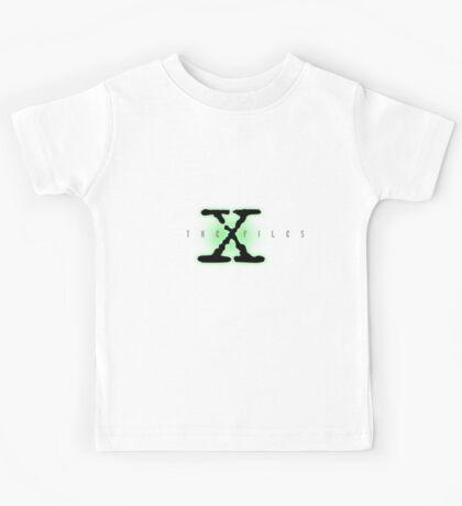 The X Files Logo Kids Tee
