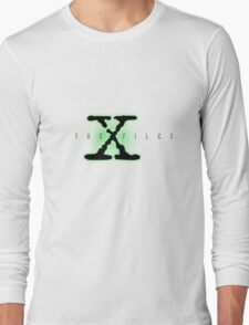 The X Files Logo Long Sleeve T-Shirt