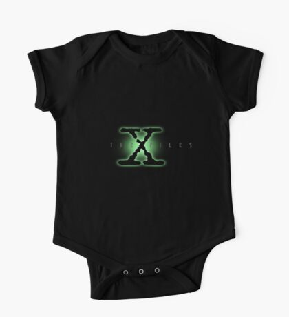 The X Files Logo One Piece - Short Sleeve