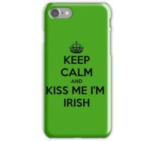 St. Patrick's Day . I'm Irish  iPhone Case/Skin