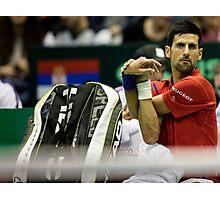 Novak Djokovic Photographic Print