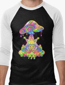 Mush for Brains Men's Baseball ¾ T-Shirt