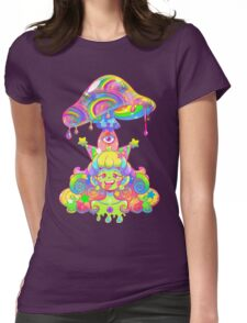 Mush for Brains Womens Fitted T-Shirt