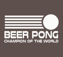 beer pong humorous One Piece - Short Sleeve