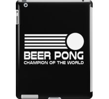 beer pong humorous iPad Case/Skin