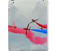 Red Arrows Break iPad Case/Skin