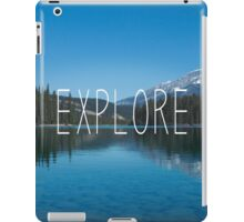 Explore Canada iPad Case/Skin