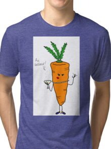 "Milady Carrot says ""Hellair!"" Tri-blend T-Shirt"