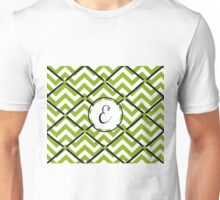 Awesome Chevron E Unisex T-Shirt