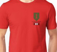 1st Infantry Afghanistan Unisex T-Shirt
