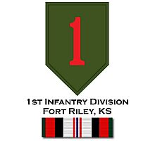 1st Infantry Afghanistan Photographic Print
