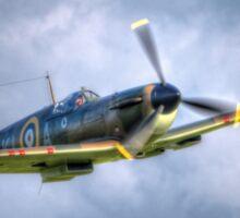 Supermarine Spitfire Mk Ia P7308 Sticker