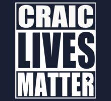 Craic Lives Matter Irish St Patrick's Day Kids Tee