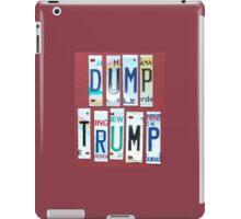 me peterson designs | dump trump iPad Case/Skin