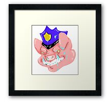 Officer Bacon Framed Print