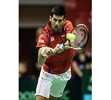 Novak Djokovic Photographic Print