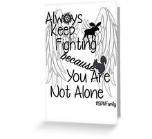 Supernatural Campaigns Greeting Card