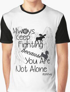 Supernatural Campaigns Graphic T-Shirt