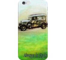 Classic ( in colors with transparency ) iPhone Case/Skin