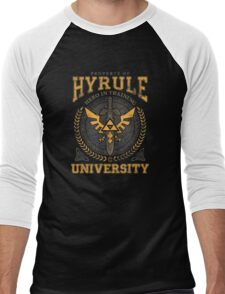 Hyrule University Men's Baseball ¾ T-Shirt