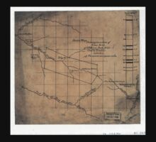244 Sketch map showing location of 5 007 acres of Elkhorn Fork W Va coal timber lands One Piece - Short Sleeve