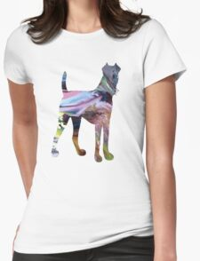 Fox terrier Womens Fitted T-Shirt