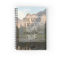 The Lord is my Rock - Ps 18:2 Spiral Notebook
