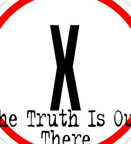 The X Files - Truth is out there Sticker