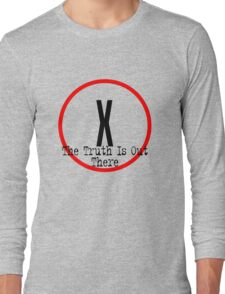 The X Files - Truth is out there Long Sleeve T-Shirt