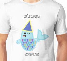 Doña Sardina Unisex T-Shirt