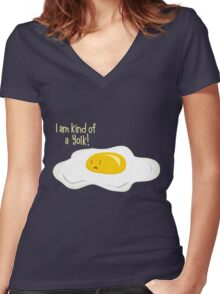 Kind of ... Women's Fitted V-Neck T-Shirt