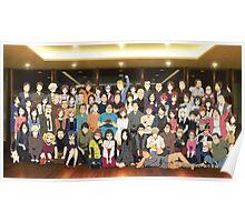 All Characters Shirobako Poster