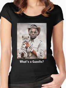 What's a Gazelle? Women's Fitted Scoop T-Shirt