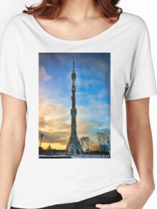 Ostankino Tower Women's Relaxed Fit T-Shirt