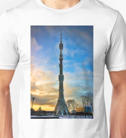 Ostankino Tower Unisex T-Shirt