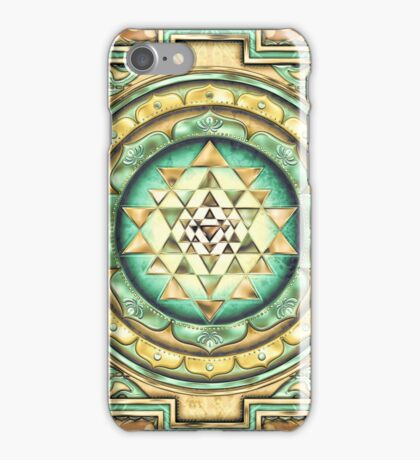 Sri Yantra A1 iPhone Case/Skin