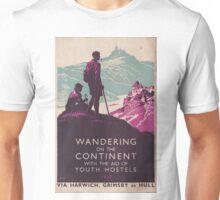 Vintage Travel Poster Unisex T-Shirt