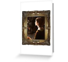 Lady Claire Greeting Card