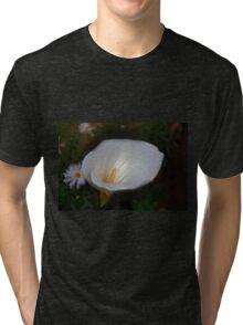 Icy Calla Tri-blend T-Shirt