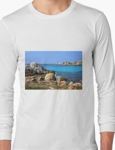 Rocks and water Long Sleeve T-Shirt