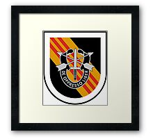 5th Special Forces Vietnam Framed Print