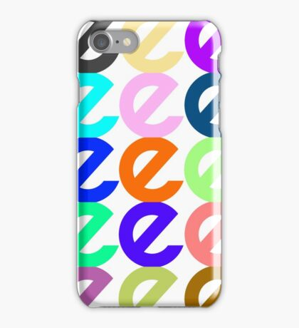 E Multiply iPhone Case/Skin