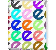 E Multiply iPad Case/Skin